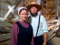 Amish Barn with Jenny