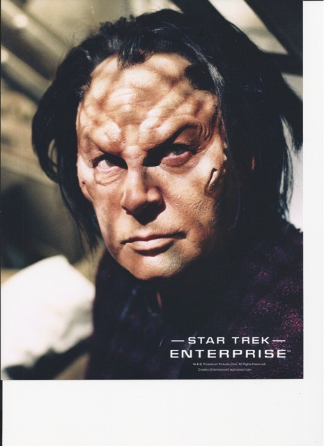 "Degra from ""Star Trek Enterprise"""